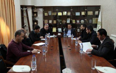 جامعة فلسطين الأهلية تستضيف النائب ايمن عودة