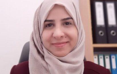 تسجيل براءة اختراع في جامعة فلسطين الاهلية لخدمة ذوي الاعاقة البصرية