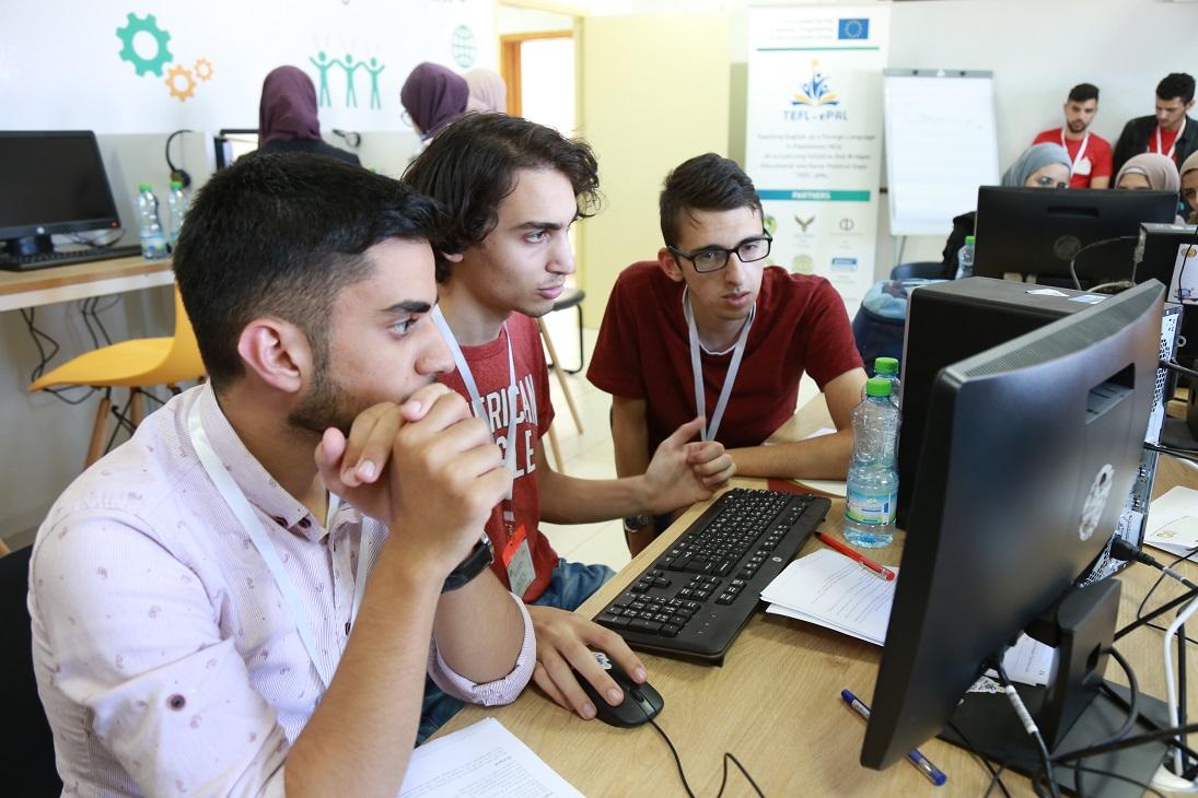 IMG 1521 1 - جامعة فلسطين الأهلية تستضيف مسابقة البرمجة الفلسطينية 2021